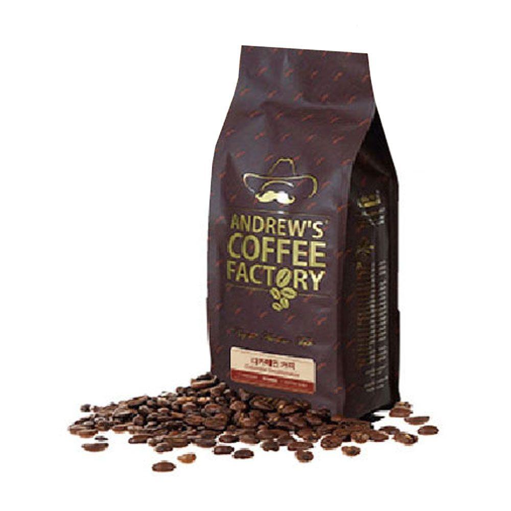 앤드류 디카페인 1kg 당일로스팅 원두 커피 언카페인