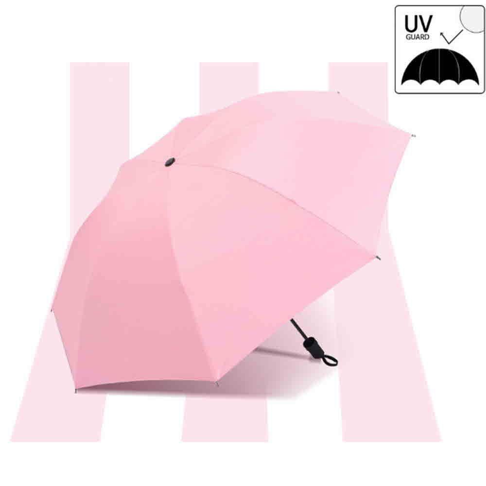 초경량 튼튼한 패션 UV 3단 양 우산