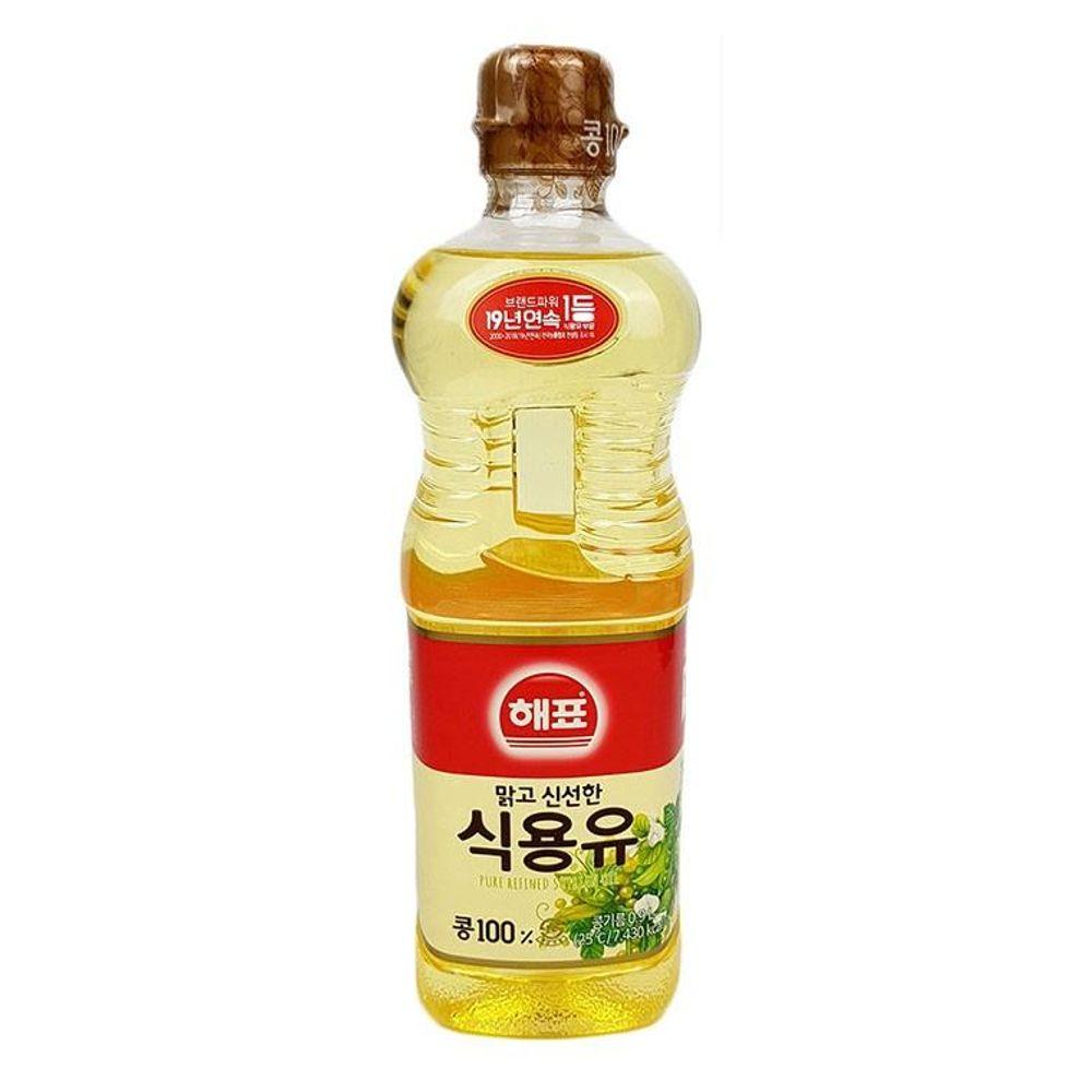 IN395 해표콩기름 0.9L 식용유