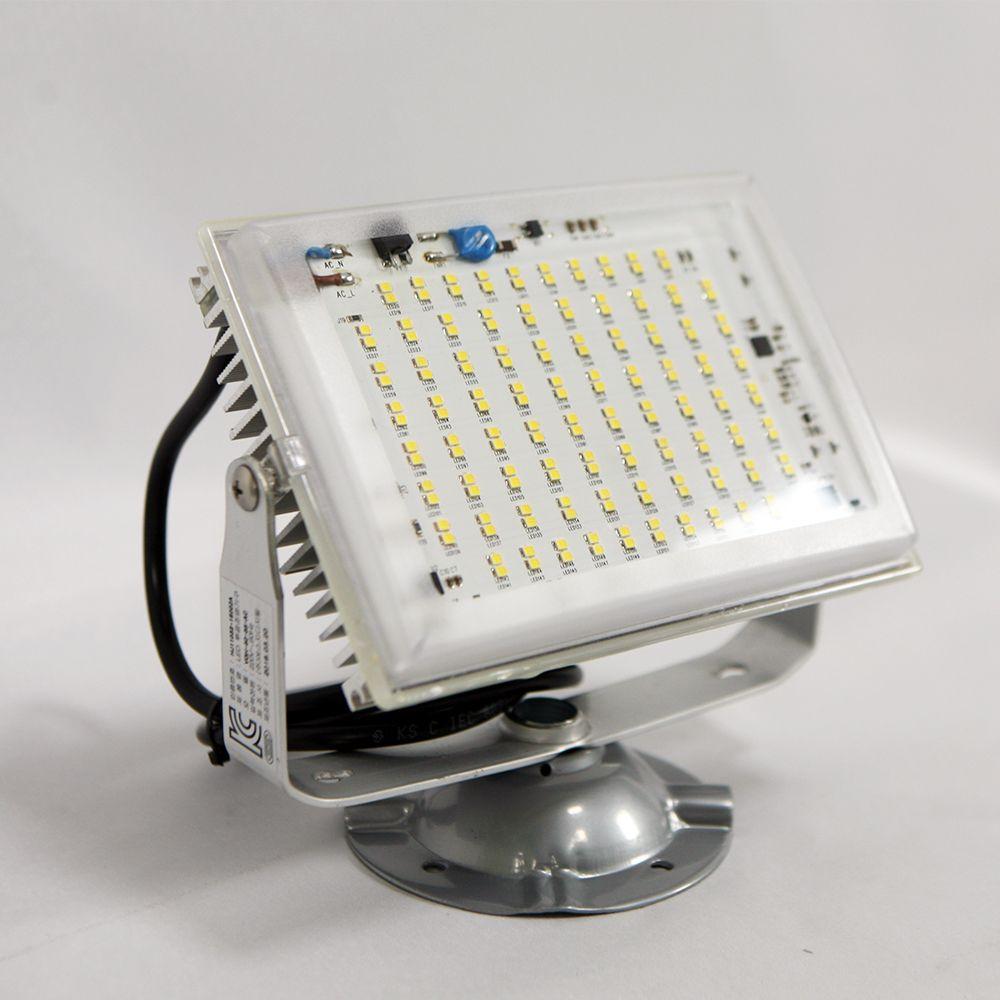 현대LED투광기 50W투광등 주광색/외부/간판 방수조명