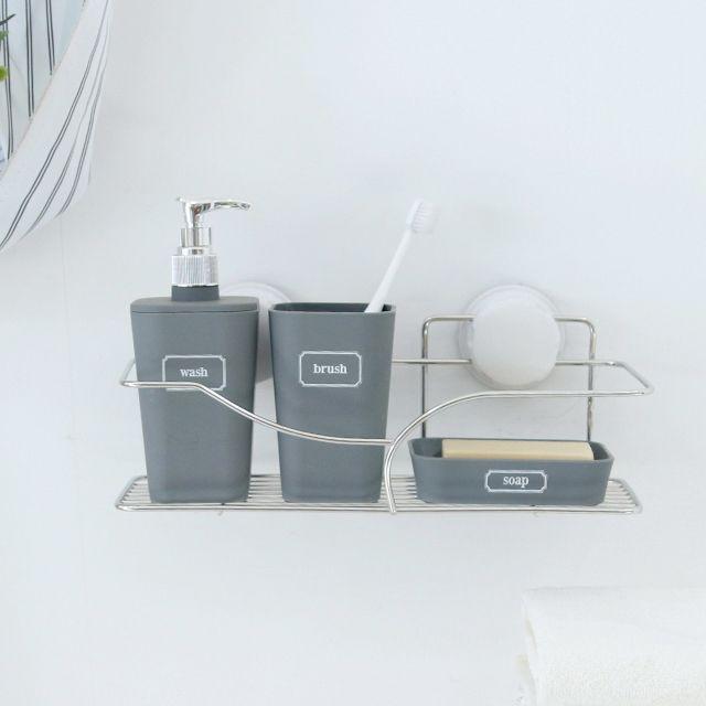 W33C8B4 욕실 흡착 주방 선반랙 대형