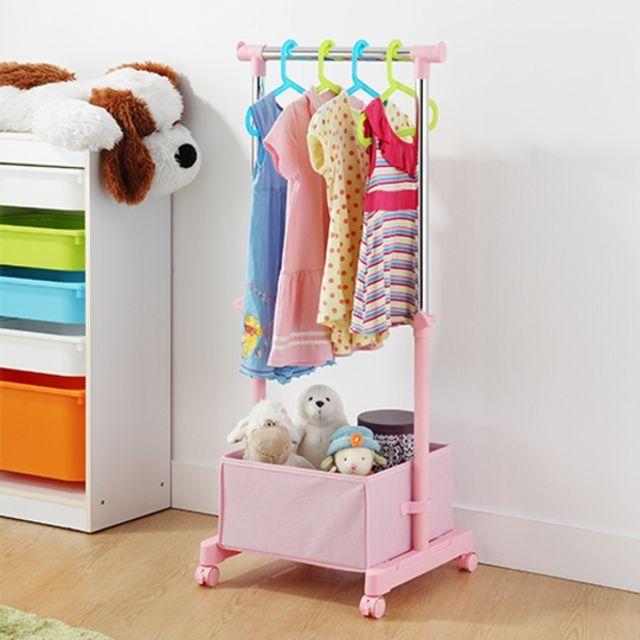 K.T 고급 32 어린이행거 (핑크) 어린이방 옷걸이