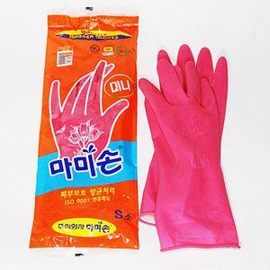 아이티알,NH 마미손고무장갑(소) 주방용품 고무장갑 설겆이 설거지 다용도