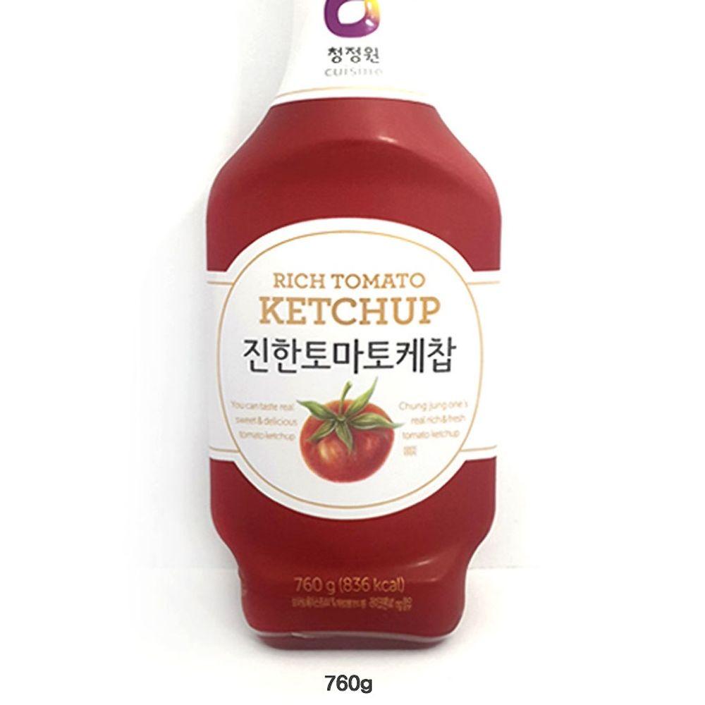 토마토 케찹 760g 진한 토마토 케첩소스 라이코펜
