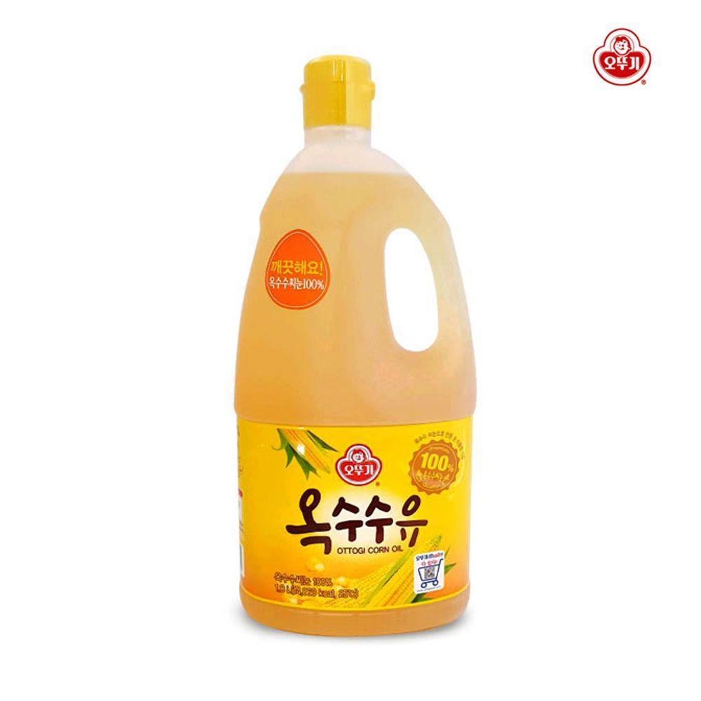 오뚜기 옥수수유 1.8L/ 튀김 부침개/ 순식물성 기름