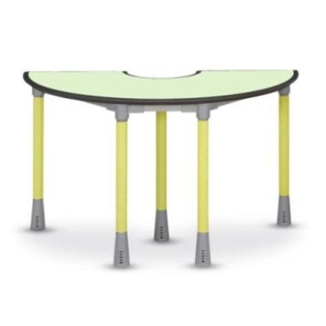 수업용 강의 학원 학교책상 공부방 테이블 도너츠형