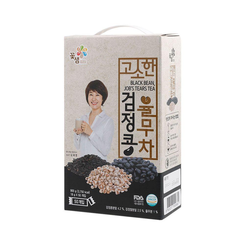 꽃샘 고소한검은콩율무차50T 2곽
