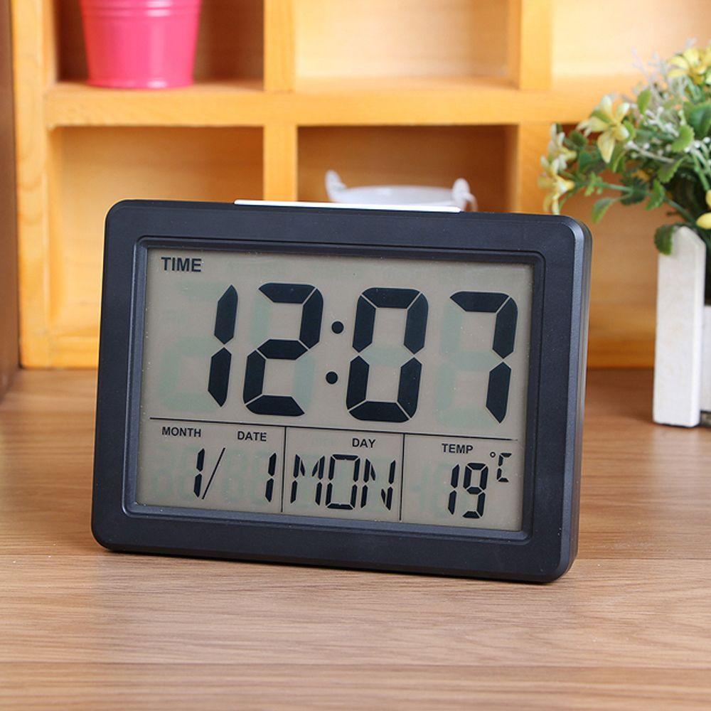 LED 백라이트 전자 알람 시계