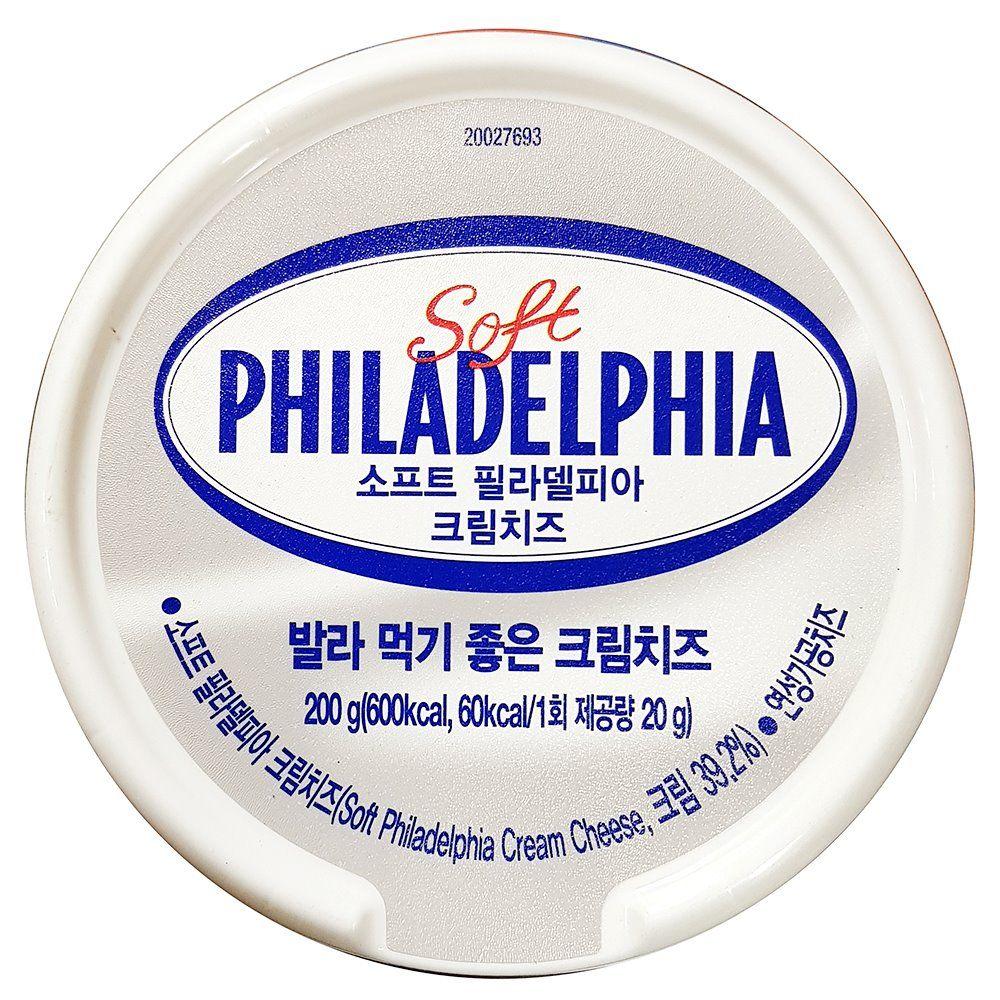 필라델피아 크림 치즈 200g X24개 피자 재료 식당용