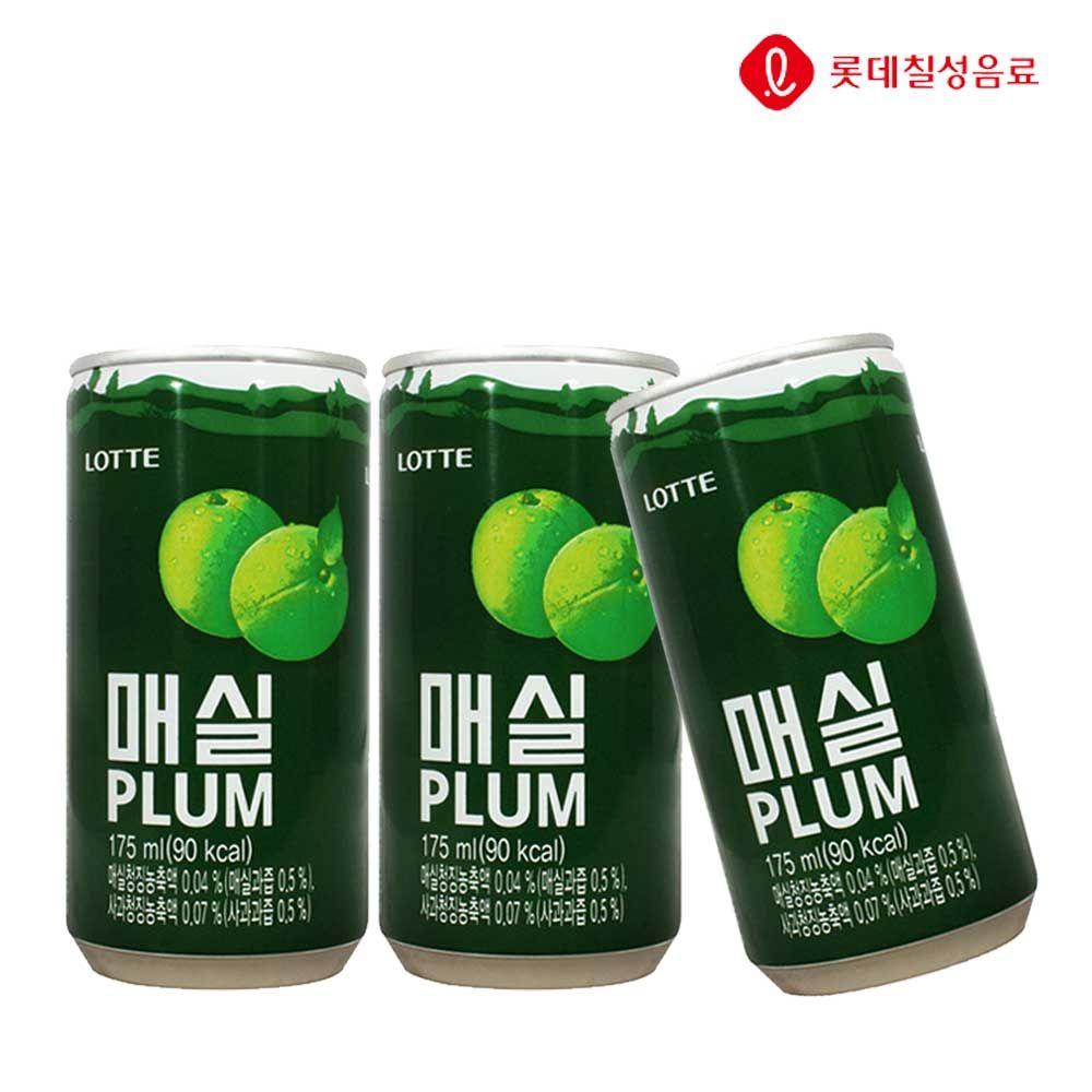 매실 175ml X 30개(업소용) 과채음료/과즙/캔음료