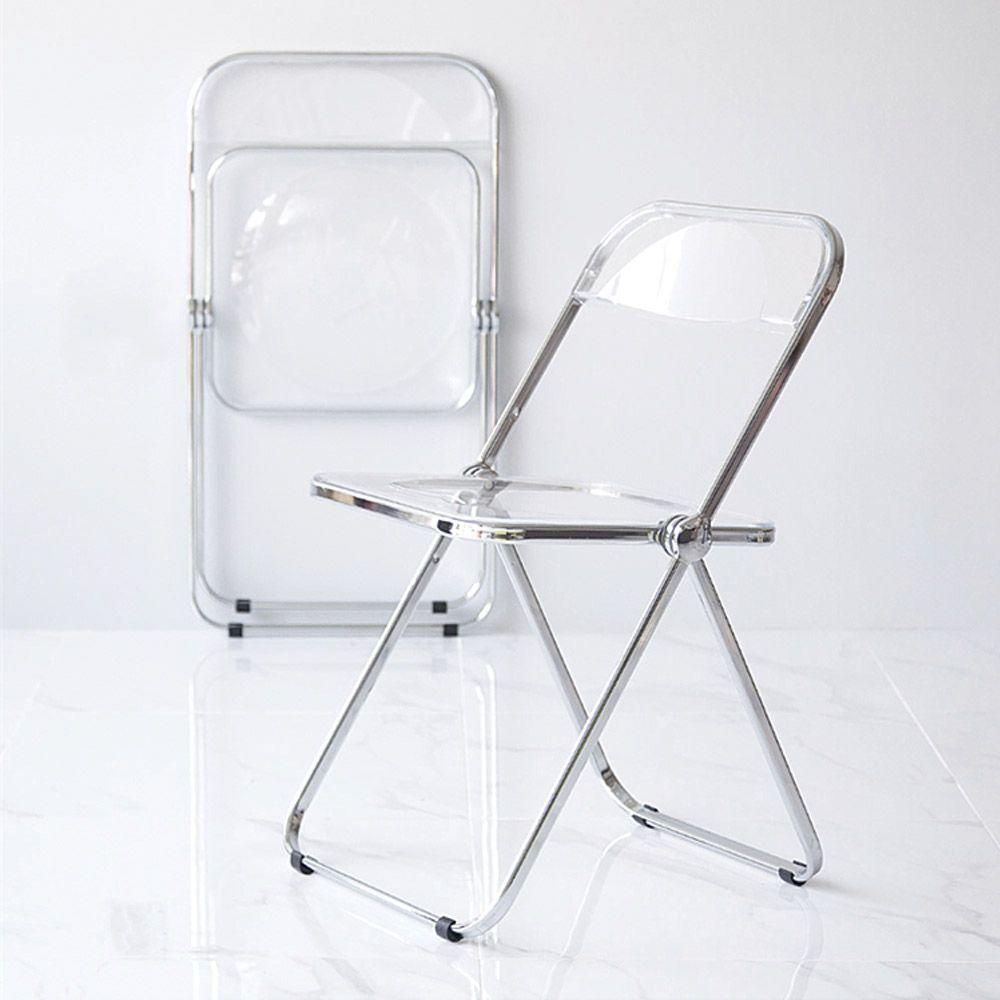 투명의자 접이식 고스트체어 인테리어의자 디자인의자