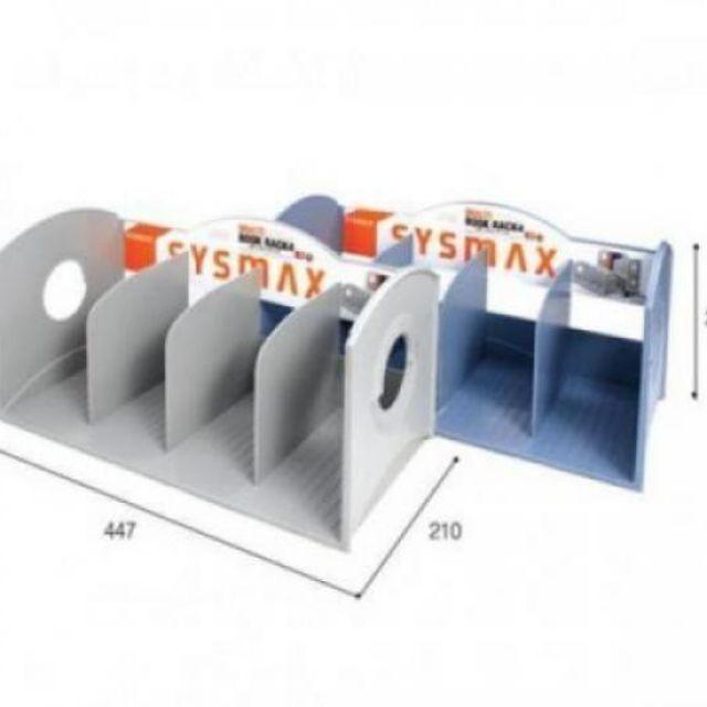시스맥스 멀티책꽂이 4단 2개입 447x210x213mm