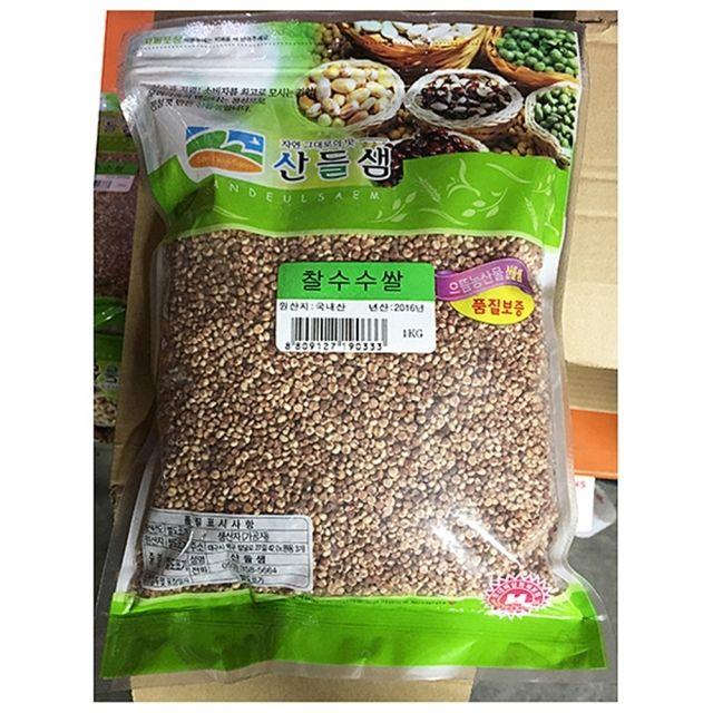 산들 잡곡 찰수수쌀 1k 10봉