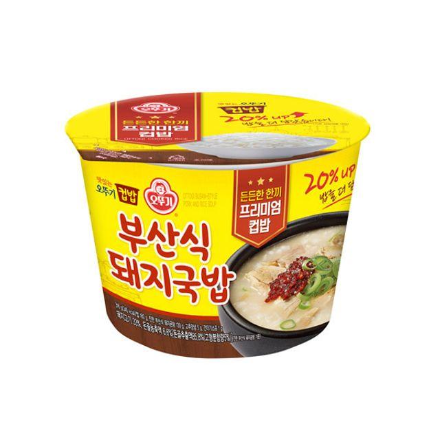 오뚜기 컵밥 부산식돼지국밥 316g