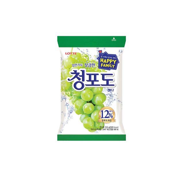 롯데)청포도캔디153gx1개입