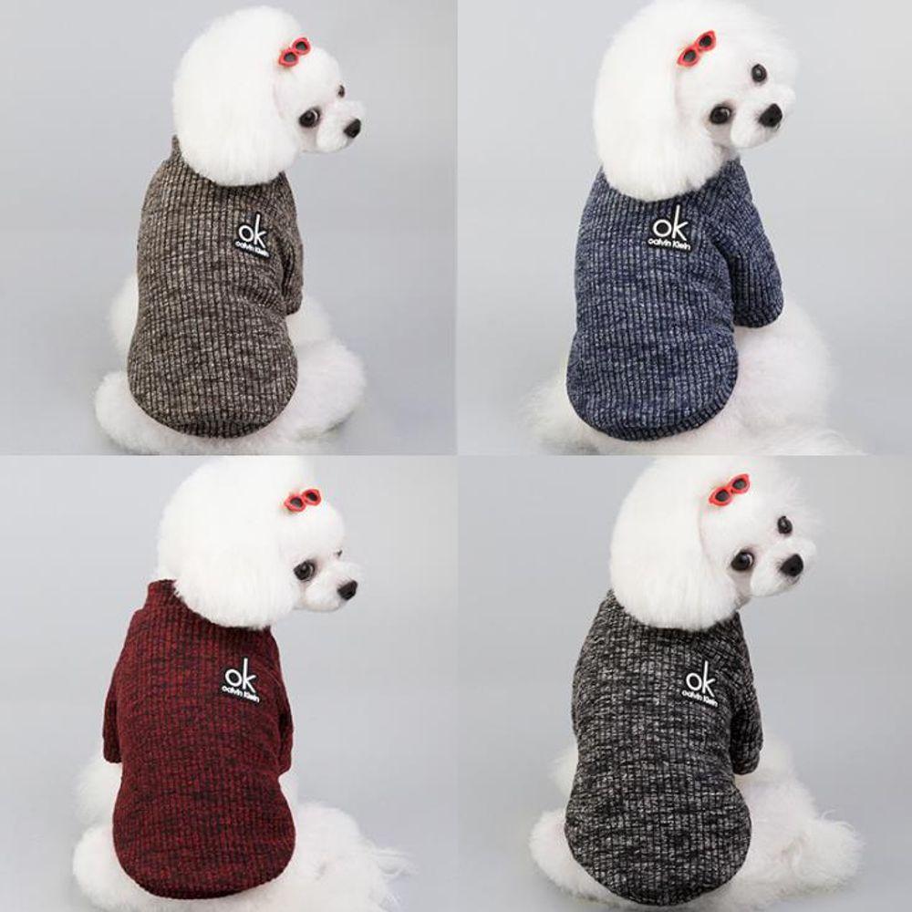 키밍 강아지 스웨터 티셔츠 보온 고양이옷 반려동물