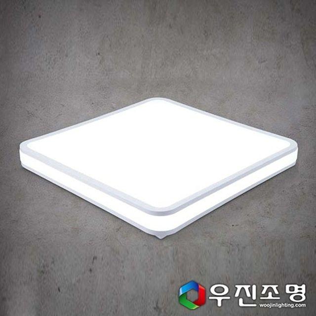 우진조명_ LED 시스템 사각 방등 60W