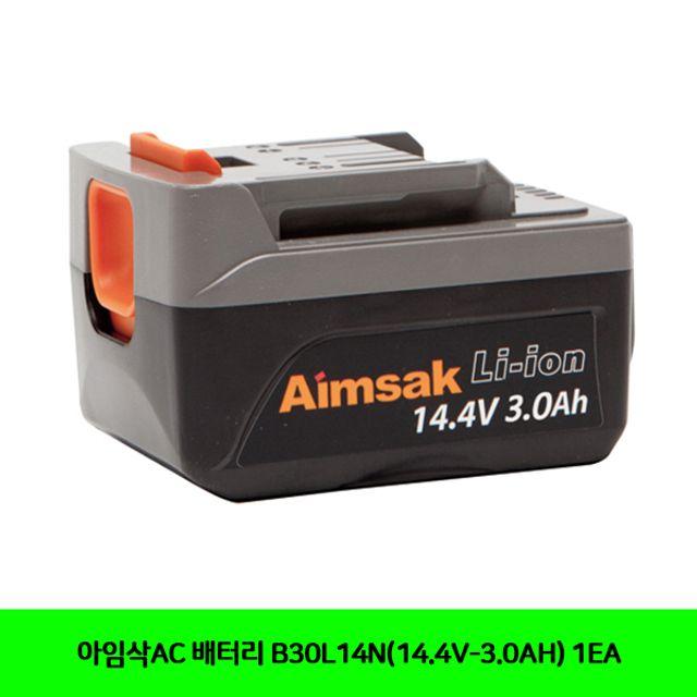 (항공x)아임삭AC 배터리 B30L14N(14.4V-3.0AH) 1EA