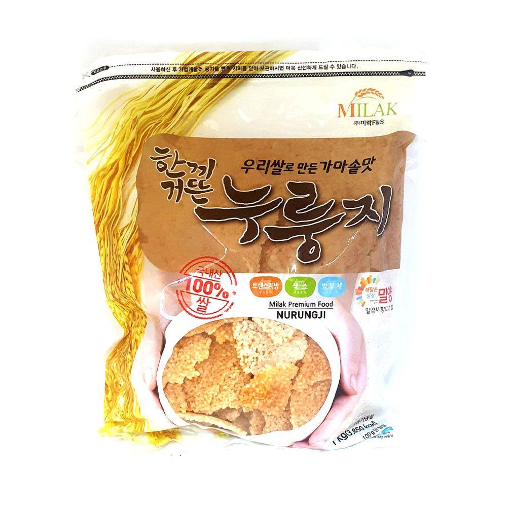 미락 한끼거뜬 누룽지 1kg 간식 숭늉 간편식 미음