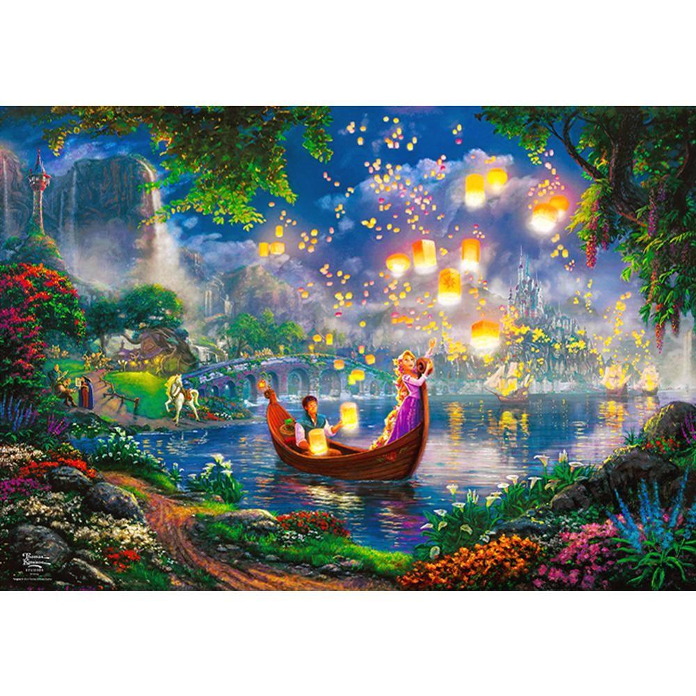 DIY 직소퍼즐 디즈니 라푼젤 그녀의꿈 1000피스
