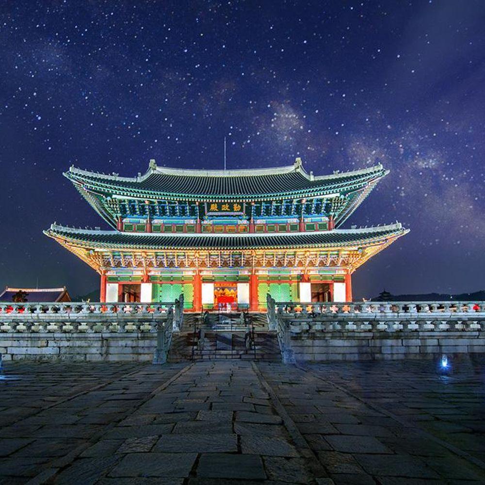 DIY 풍경 직소퍼즐 경복궁의 야경 1000피스