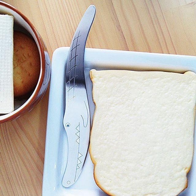 귀여운 악어캐릭터 스푼 스텐레스 잼 버터바르기
