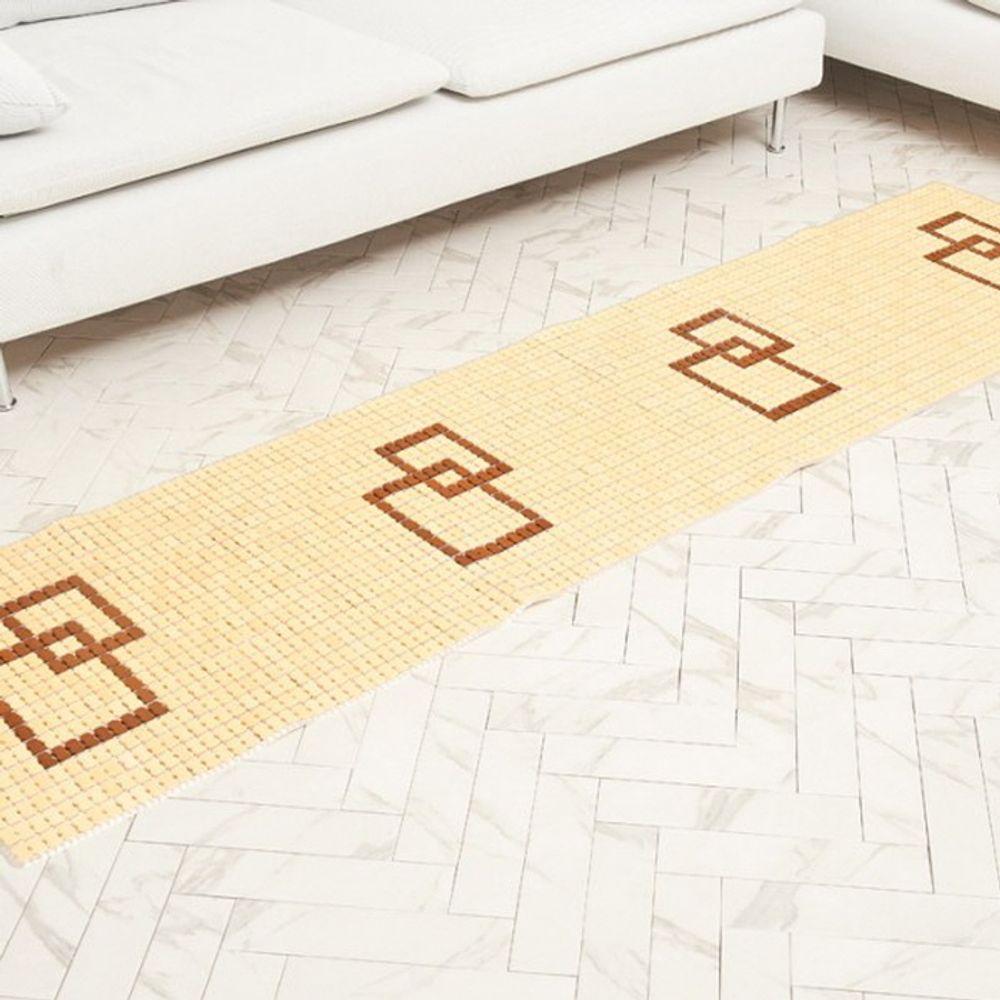 바닥 카페트 매트 마작 쇼파 방석 네모 3단 50x150cm