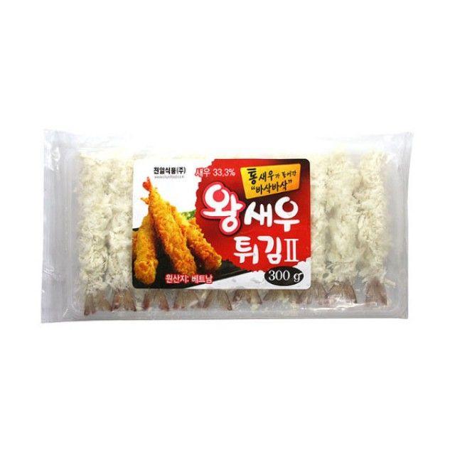 (냉동)천일왕새우튀김2 300g