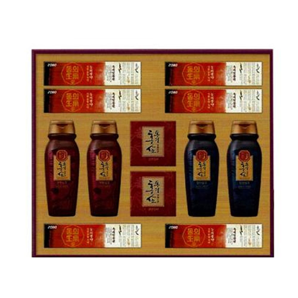 6년근 홍삼 한방샴푸 추출물 설 추석 고급 선물세트