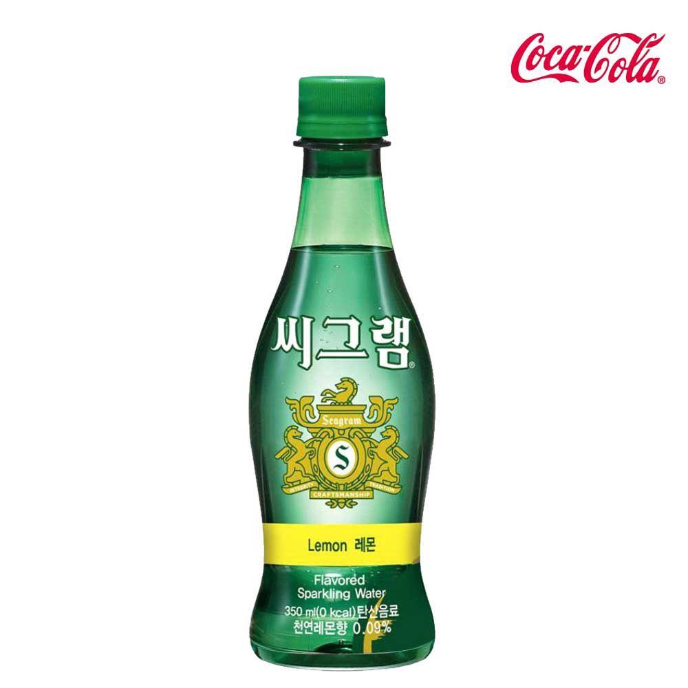 씨그램 레몬 350ml x 24개 탄산음료