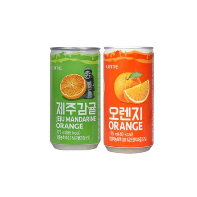 DAE 롯데 제주감귤 오렌지 175ml X 각15개(총30개)