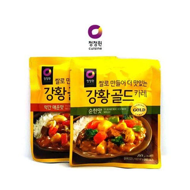 카레소스 강황골드 카레 80g 순한맛 매운맛 간편식